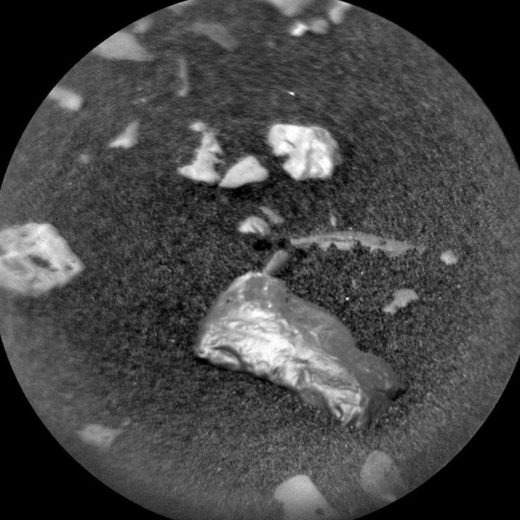shiny object mars rover curiosity