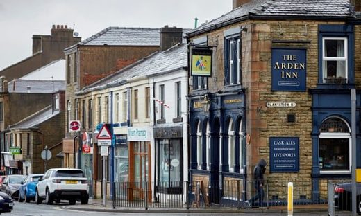 Pubs vanish in Accrington, UK