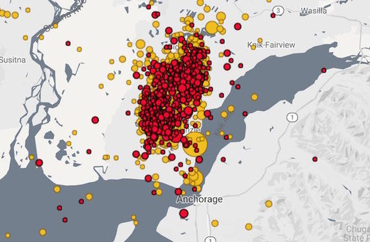 Alaska Earthquake aftershocks 11.30.18