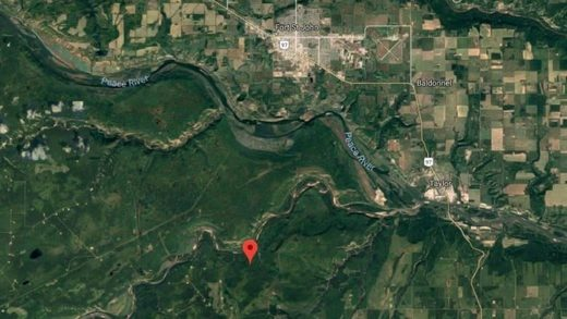 earthquake near Fort St. John, B.C.