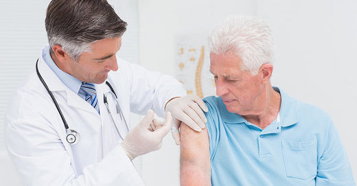 flu shots elderly