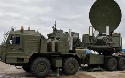 Russian Krasukha-2 electronic warfare system