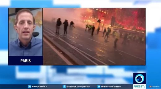 Joe Quinn on PressTV: French Protests Expose Macron's Globalist Regime
