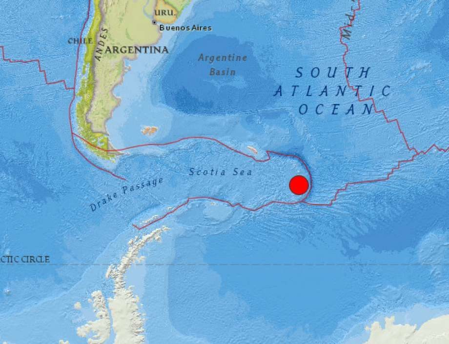Magnitude 7.3 earthquake strikes near Antarctica -- Earth ...