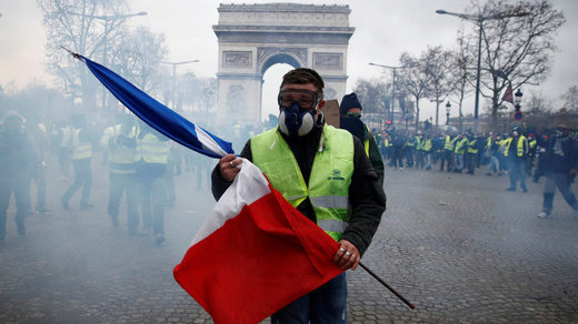Macron's European Army Has Arrived: It Goes by The Name Gilets Jaunes