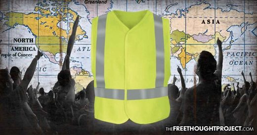 Yellow Vest protests global worldwide