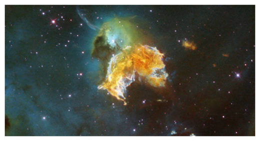 A nearby supernova remnant