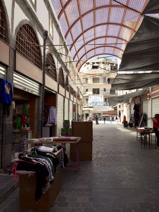 souq in the Old City of Homs
