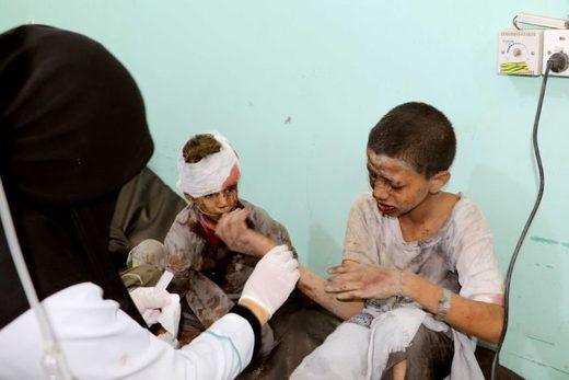 Yemeni children war