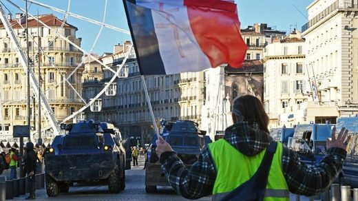 western hypocrisy Yellow Vests Paris