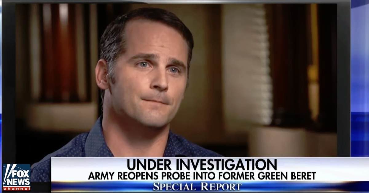 Green Beret major charged with murdering Afghan man ...