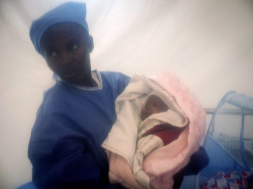 Baby recovers from Ebola