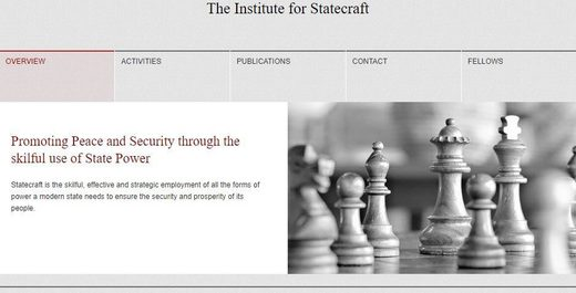 Institute for Statecraft website home page
