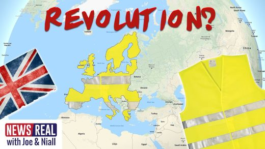 newsreal yellow vests brexit