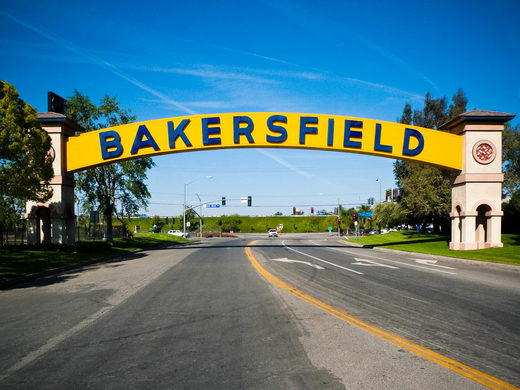 Bakersfield, CA sign
