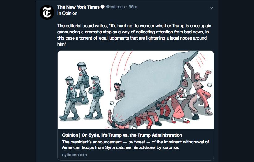 Orange man bad, Empire good: Reactions To Trump's Syria ...