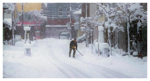 Heavy Snowfall Japan
