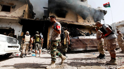 UN libyan fighters sirte
