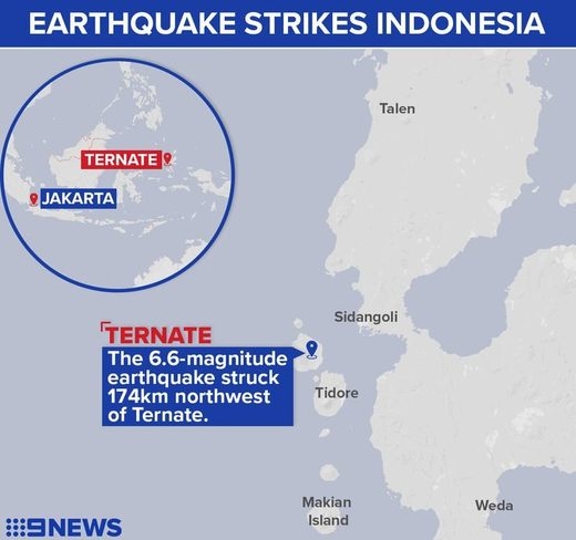 Indonesia quake