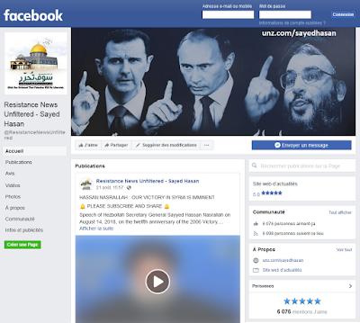 resistance news facebook