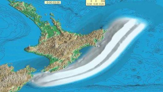 subduction tsunami Hikurangi