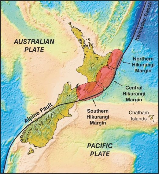 Hikurangi subduction zone
