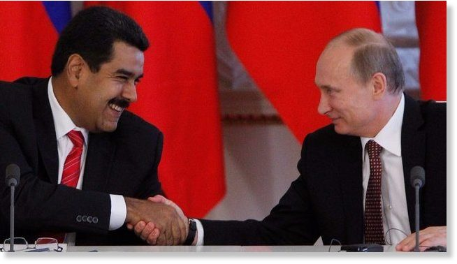 US tries to isolate Venezuela but it only pushes Maduro closer to Putin -- Sott.net
