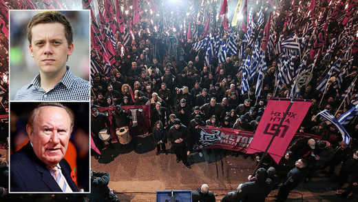 Greek ultra nationalist party Golden Dawn