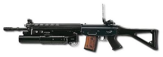 grenade launch rifle