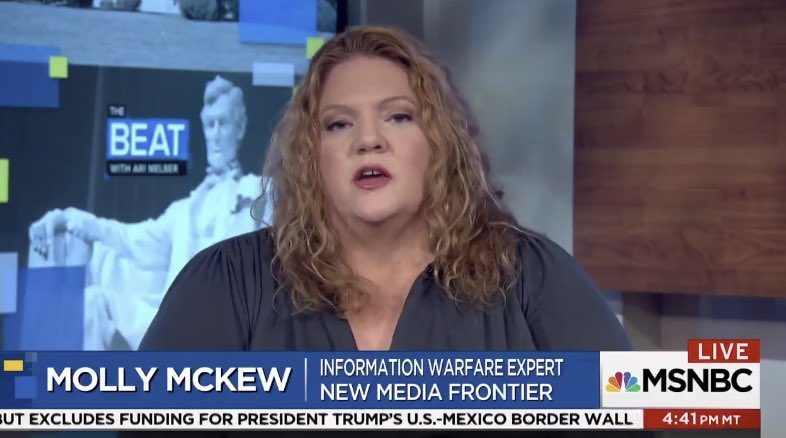 Hysterical Russiagater Molly McKew to lecture on 'hybrid warfare' at Georgetown -- Sott.net