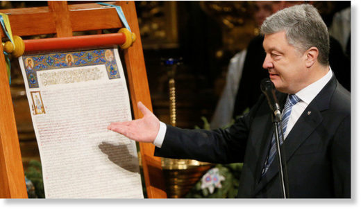 Putin on Ukrainian Orthodox schism: Forcing flock into foreign church is a risky political ploy