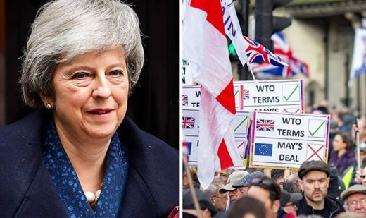 May brexit protest