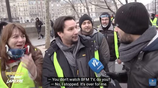 Has The Yellow Vest Movement Run Out of Gas? - Vincent Lapierre Reports From Paris