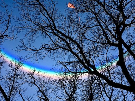 Circumzenithal arc over MI