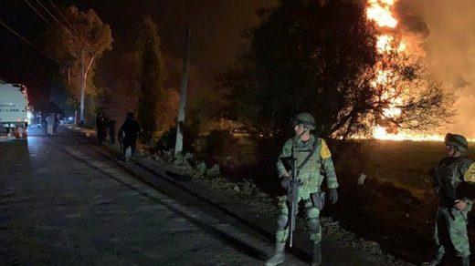 mexico pipeline explosion