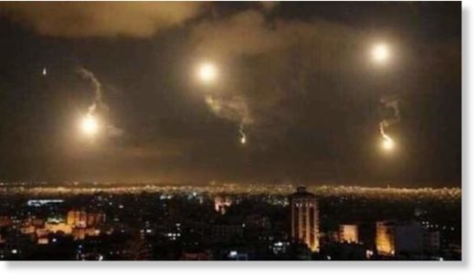 israel attack damascus