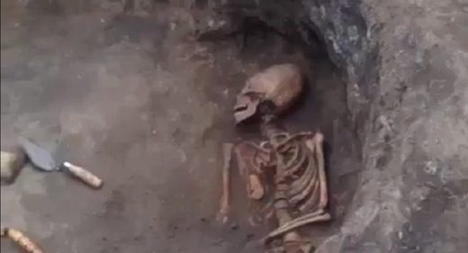 Skeleton With 'Alien' Egg-Shaped Skull Discovered in Southern Russia