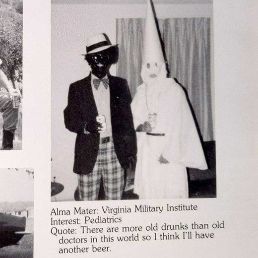 northam blackface photo