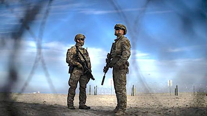 Image result for mexican troops on border