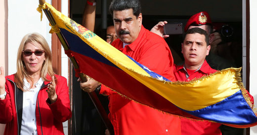 Maduro support rally
