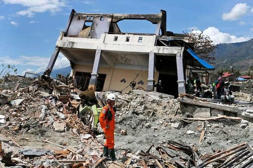 Indonesian earthquake in 2018