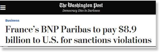 BNP Parisbas fine