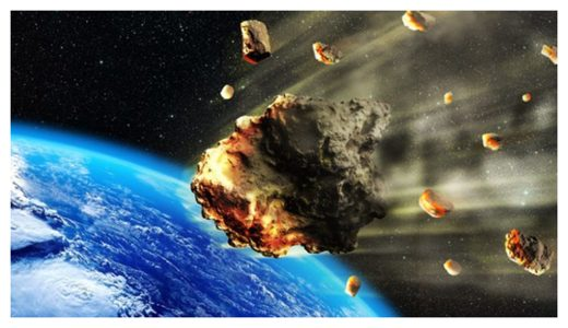 Asteroid Break up