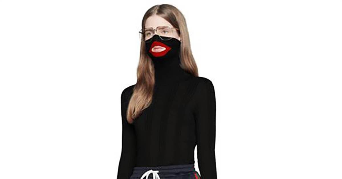cf34d40aecb Outrage culture excited to discover Gucci balaclava 'blackface ...
