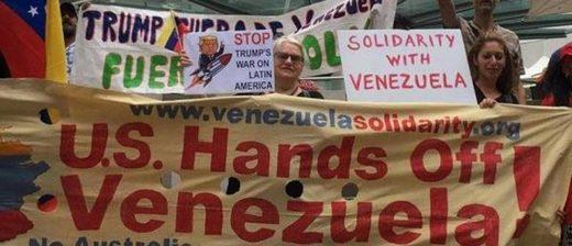 protest consulate venezuela