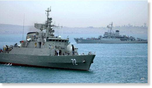 Iranian warship Alborz