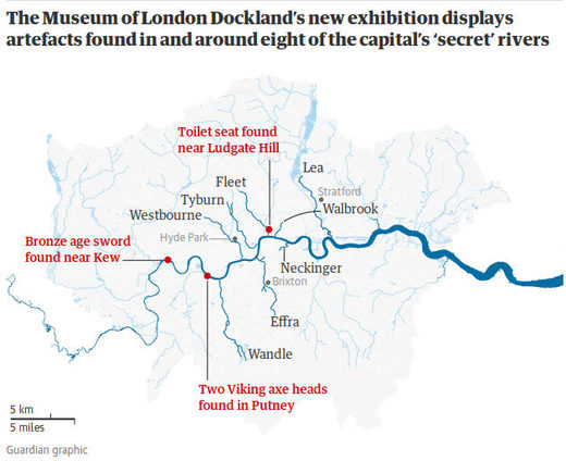 River thames archeology
