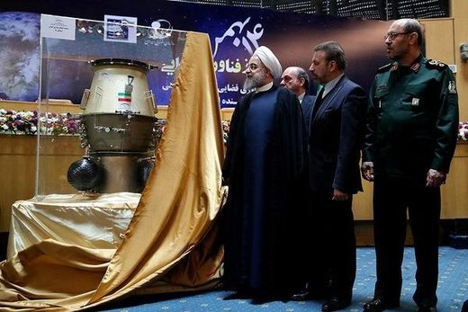 Hassan Rouhani iran space program