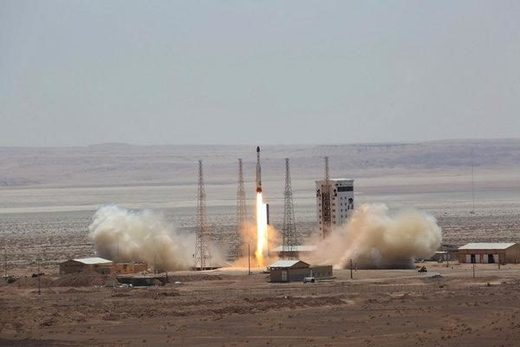 Iran rocket satellite