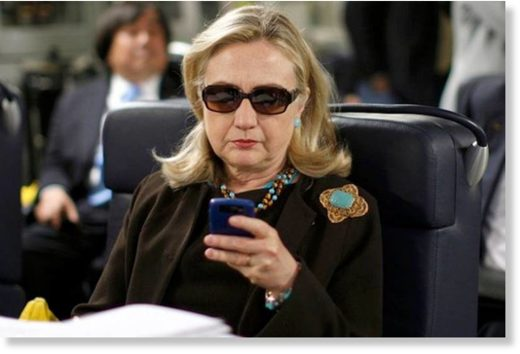 hillary clinton cell phone